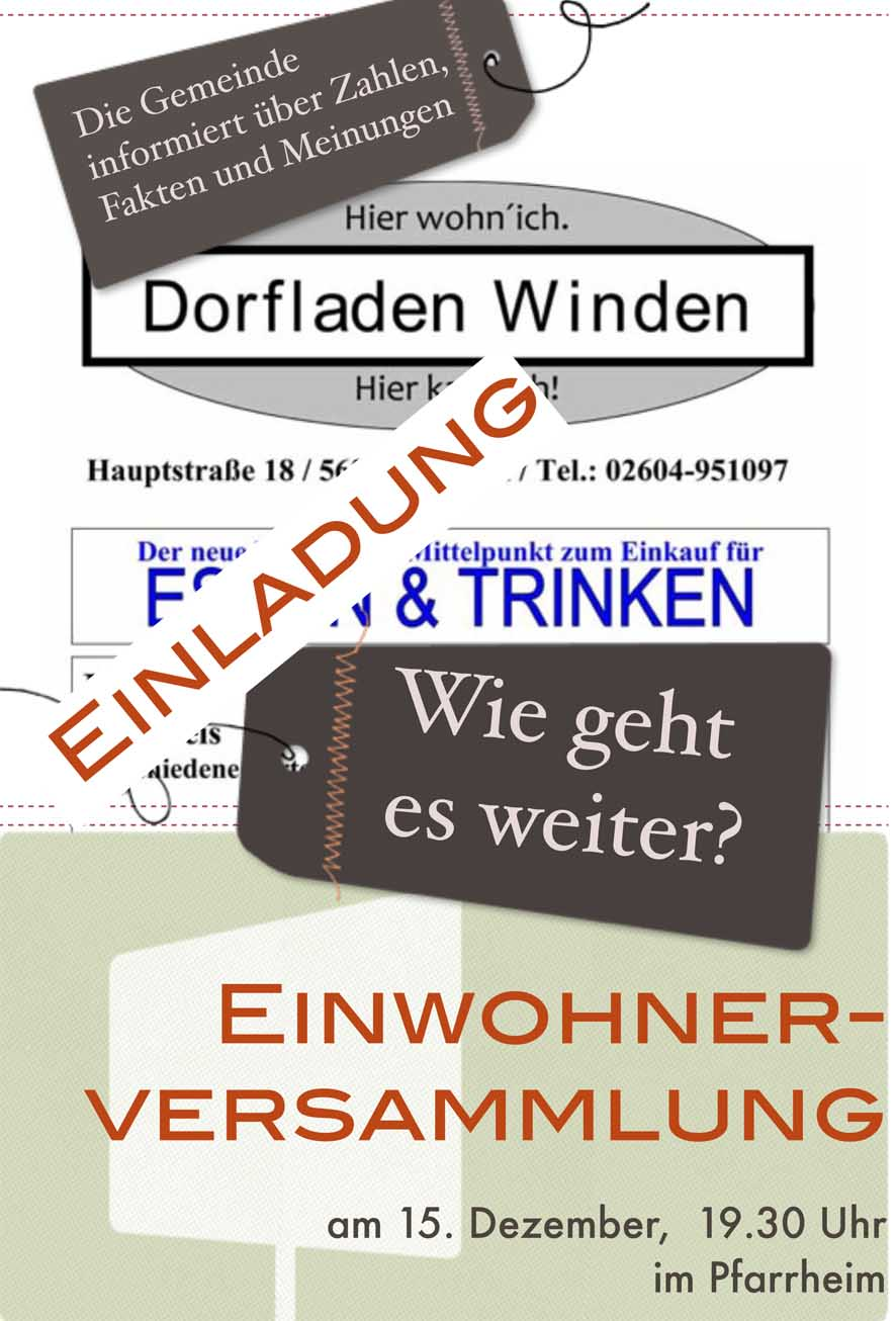 Plakat Dorfladen.pages