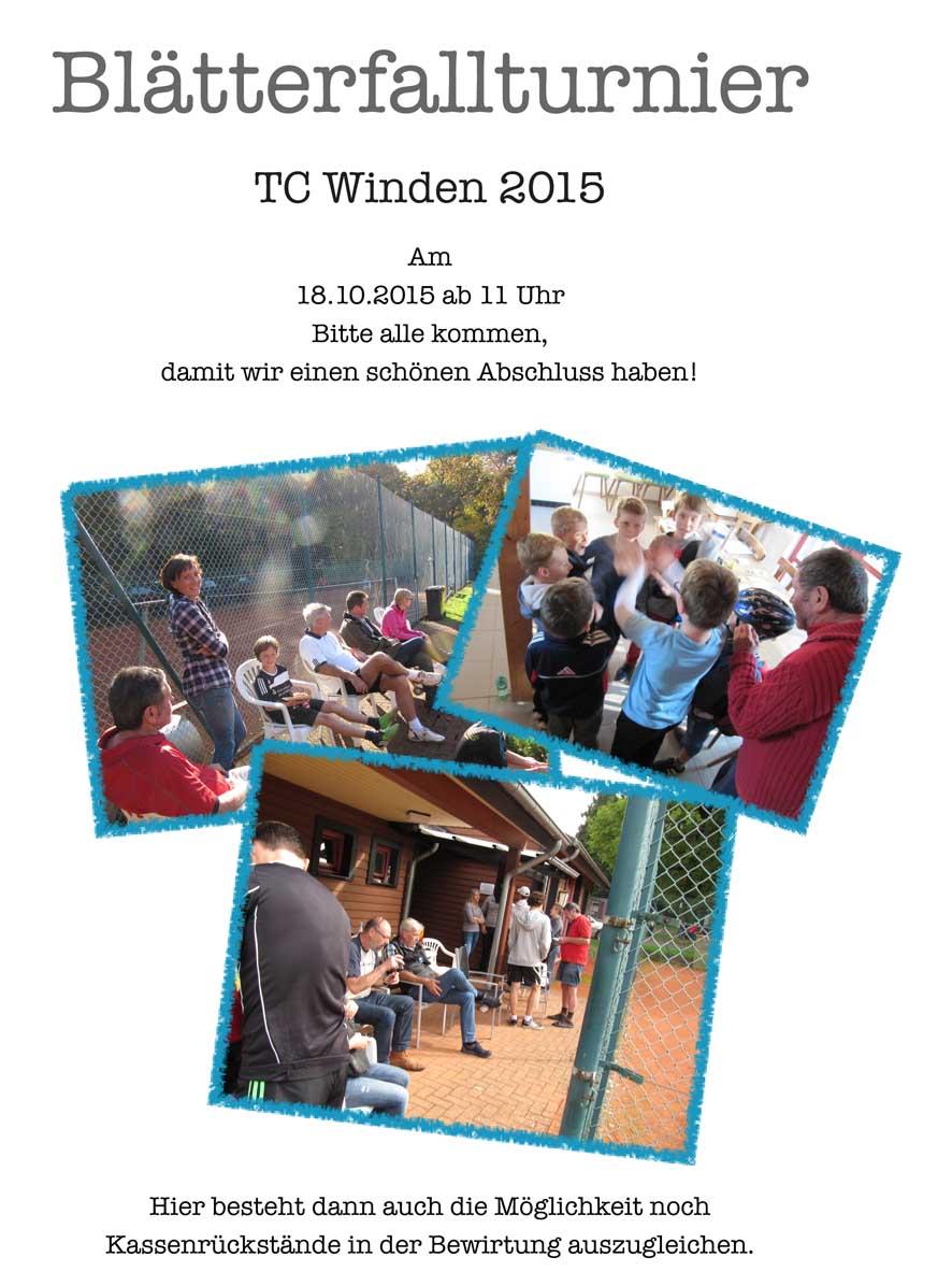 Bla¨tterfallturnier 2015