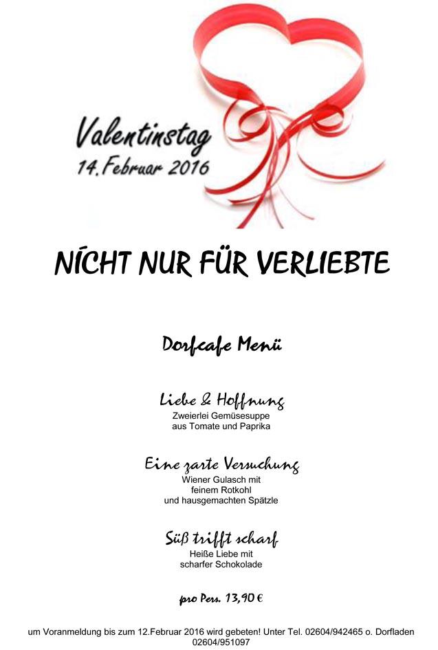 Wir In Winden Valentinstag Im Dorfcafe