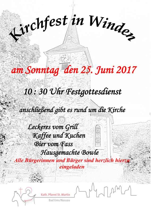 Plakat Kirchfest 2017 NL-1