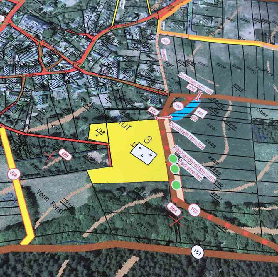 Flurbereinigung Maßnahmeplan Friedhof (2)