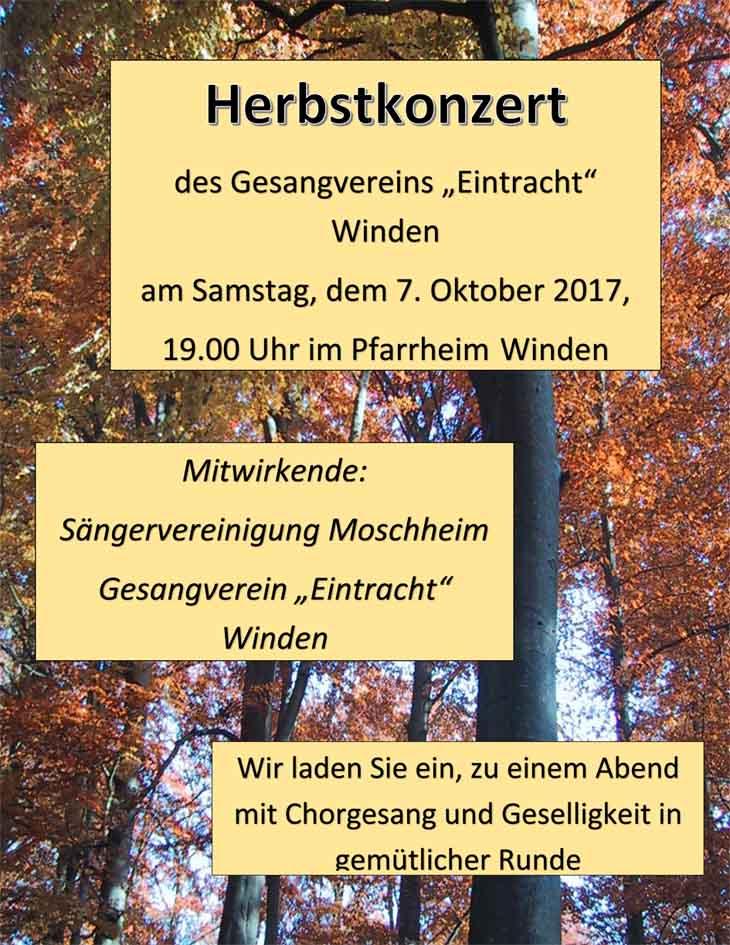 Plakat Herbstkonzert(1)