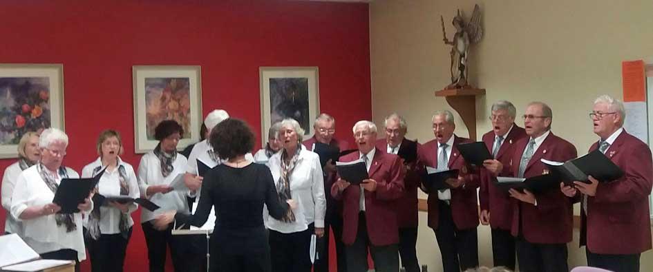 Chor beim Herbstkonzert 2017
