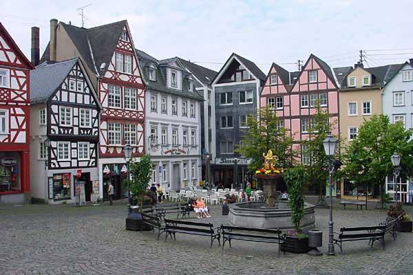 Marktplatz in Hachenburg