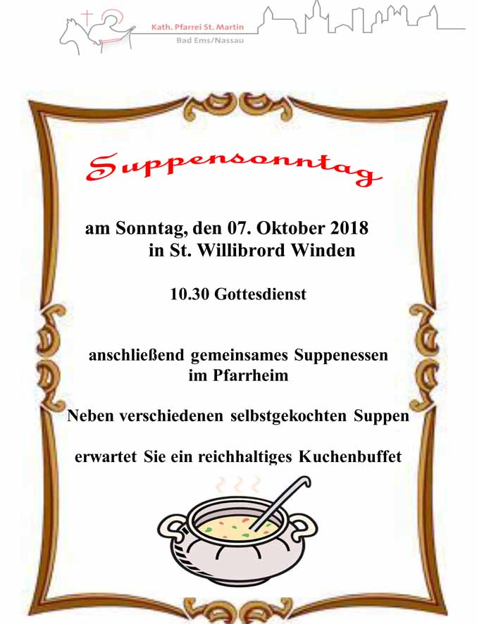 Suppensonntag 07.10