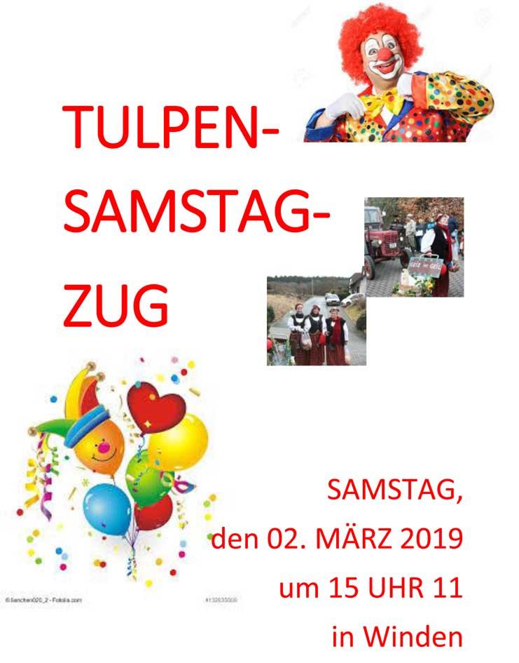 Tulpensamstag 2019