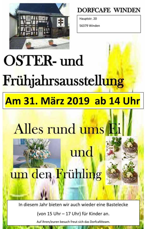 Ostern 2019 Dorfcafe
