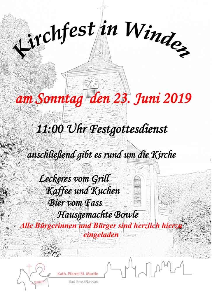 Plakat Kirchfest 2019 NL-1